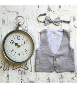 Light Grey Bowtie