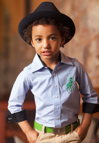Polo fashion for kids