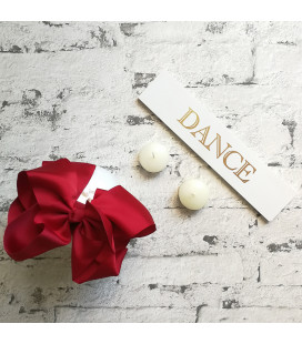 Mega Bow Red Alice Band