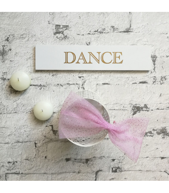 Tulle Pink Bow Alice Band