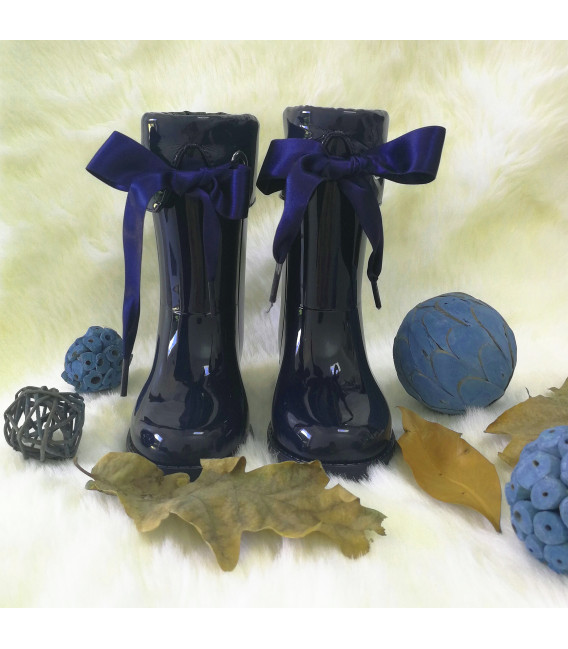 Lilly Navy Gumboots