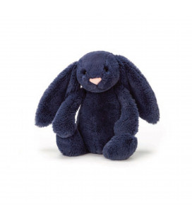 Bashful Navy Bunny Small