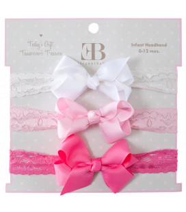 Baby Headbands Pink Pack