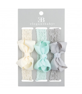 Baby Headbands Grey Pack