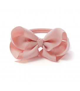 Med Bow Chalk Pink Headband