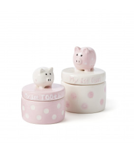 Tooth & Curl Pink Piggies