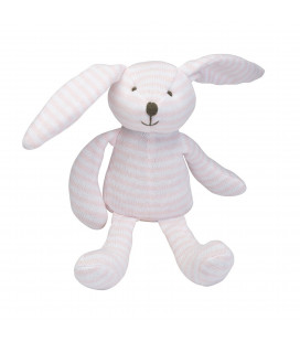 Pink Striped Bunny