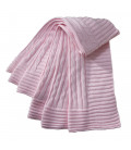 Cable Knit Pink Blanket