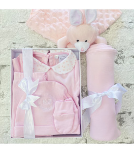 Baby Pink Swaddle Blanket