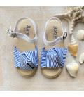 Martina Blue Sandal