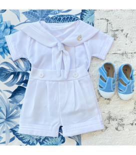 White Sailor Outfit