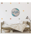 Abstract Sunsets Wall Pattern Decals