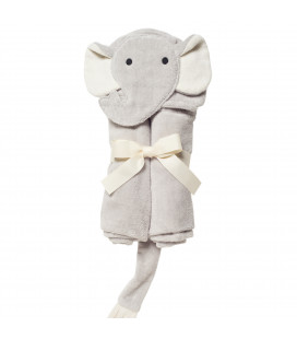 Grey Elephant Bath Wrap