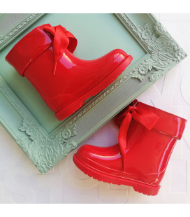 Anna Red Gumboots
