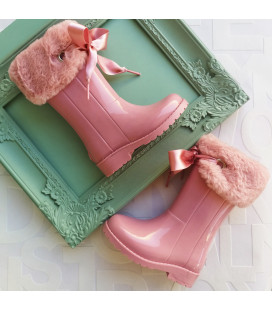 Becky Pink Gumboots