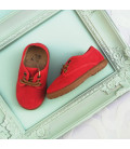 Eric Red Oxford Shoe