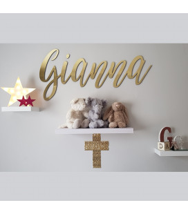 Laser Cut Coated Wooden Name Signs