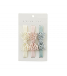 Lacey Bows Headbands Pack